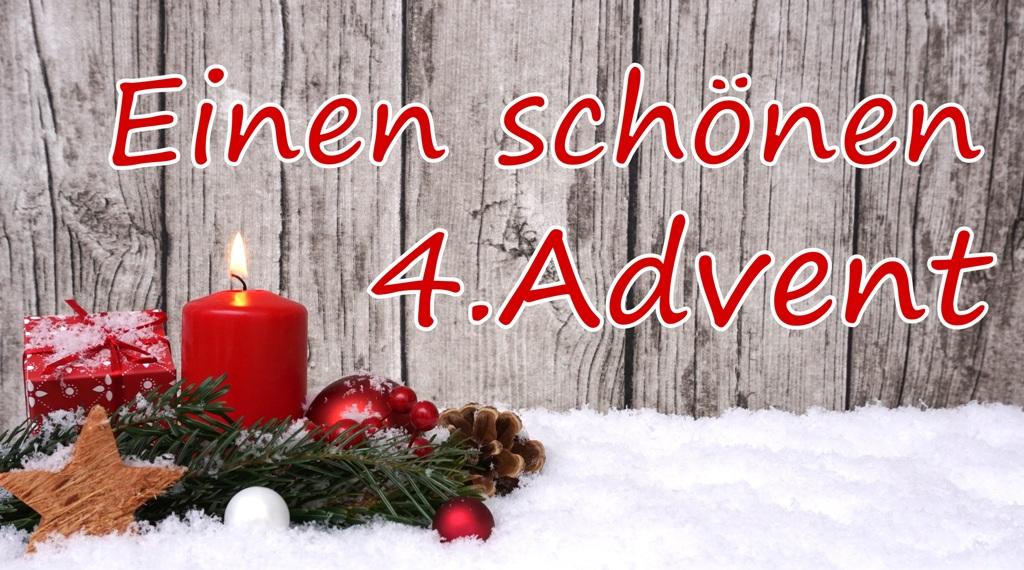 Frohes Fest & einen schönen 4. Advent