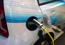 Elektroauto auftanken