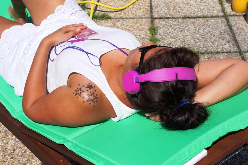 Entspannung Sonnenbad