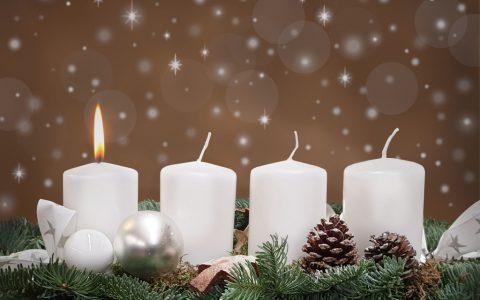 Erster 1 Advent Kerze Bilder