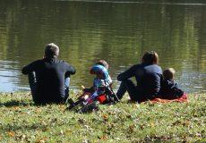 Familienausflug mit Kindern