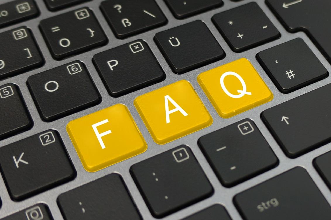 FAQ Tastatur gelb