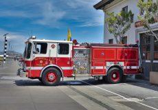 Kalifornien Feuerwehrauto