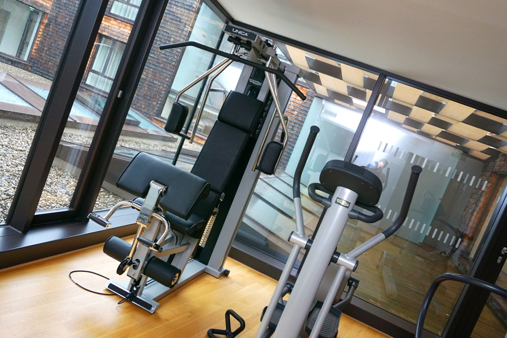 Fitnessstudio Training