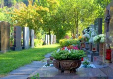 Friedhof Grab