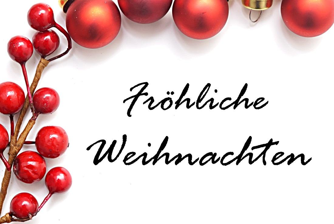Fröhliche Weihnachten mit Text