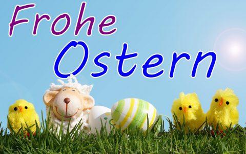 Frohe Ostern / Osterkarte
