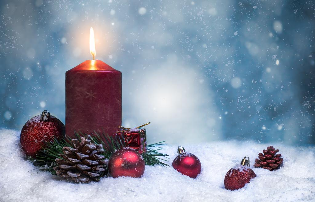 Frohe und schöne Weihnachten Bild