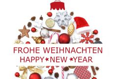 Frohe Weihnachten / Happy New Year
