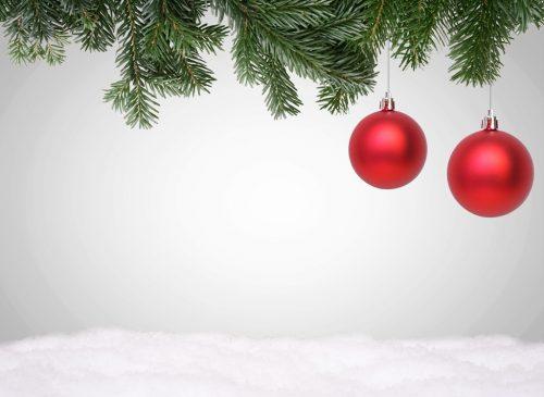 frohe weihnachten weihnachtskugeln mit schnee. Black Bedroom Furniture Sets. Home Design Ideas
