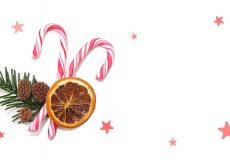Frohe Weihnachten / Zuckerstange 1