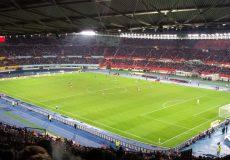 Fußballstadion Fußball