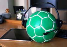 Fussball WM/EM Bueropause