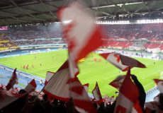 Fußballstadion Tribüne