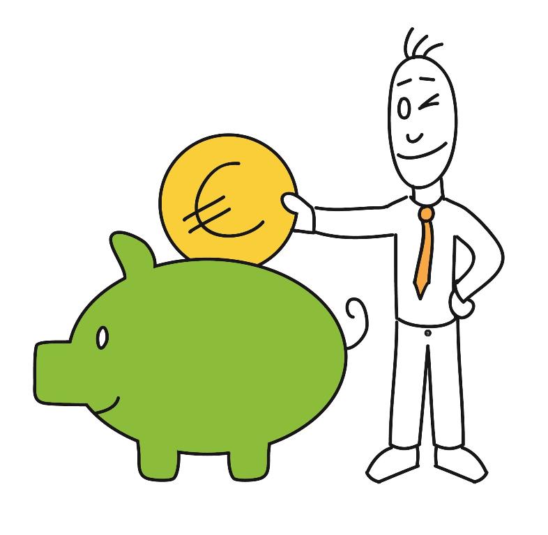 Die richtige Geldanlage – Sparen!
