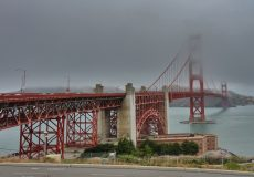 Golden Gate Brücke Nebel
