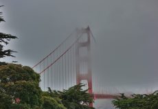 Golden Gate Bridge Wolken