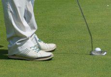 Golf Spielen Schläger