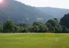 Sonnenschein Golfplatz