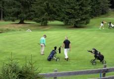 Golfspieler Wald Seefeld