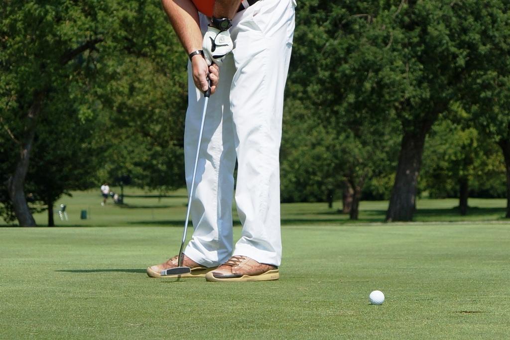 Golfspieler Golfsport