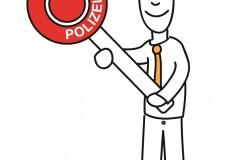 Polizist / Polizei