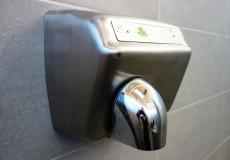 Handtrockner Toilette