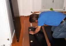 Möbelaufbau Handwerker