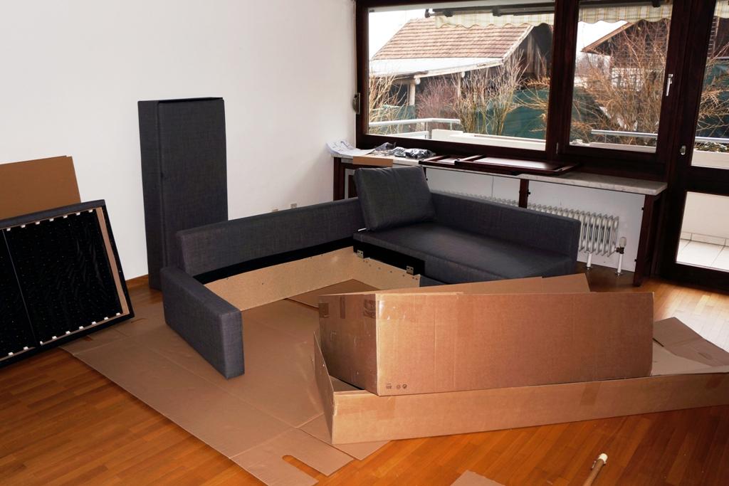 Handwerker Möbelmontage