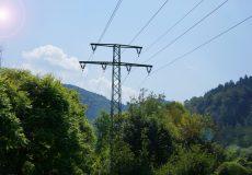 Hochspannungsleitung Strom