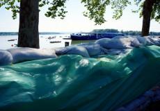 Hochwasserschutz Belgrad