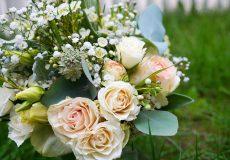 Hochzeitsstrauß Rosa Weiß