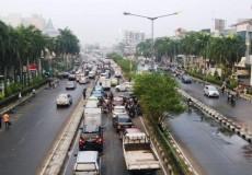 Indonesien Stadt