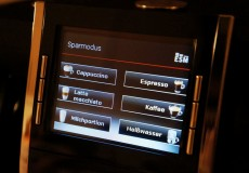 Kaffeemaschine Display