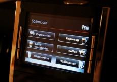 Kaffeemaschine Display