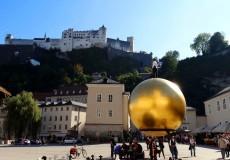 Goldene Kugel Kapitelplatz Salzburg