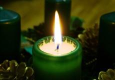 Kerze im Advent