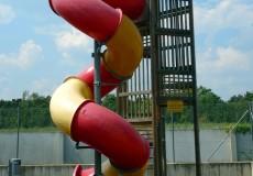 Kinderrutsche Spielplatz