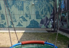 Schaukel Kinderspielplatz