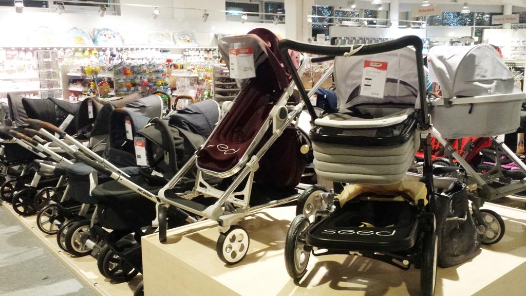 Kinderwagen Shopping