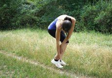 Knöchelverletzung Sport / Frau