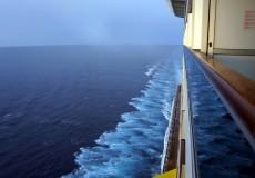 Sonnenuntergang Kreuzfahrtschiff