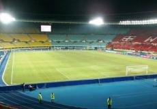 Leeres Stadion Fußball