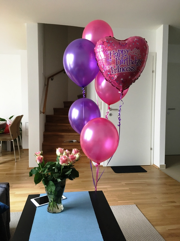 Liebe Herzluftballon