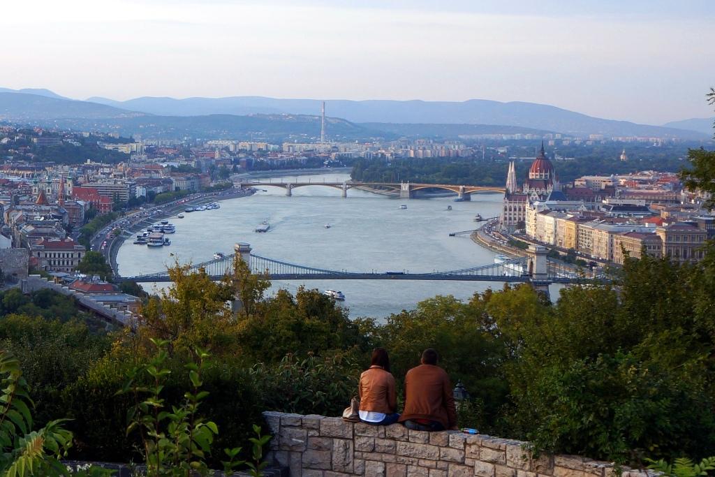 Liebspaar in Budapest 1