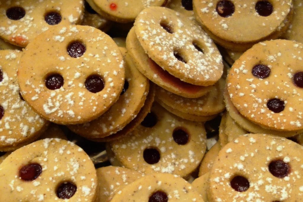 Kekse: Linzer Augen