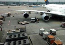 Logistik Transport Flughafen Flugzeug