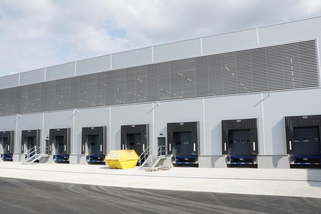 Logistik Warenanlieferung