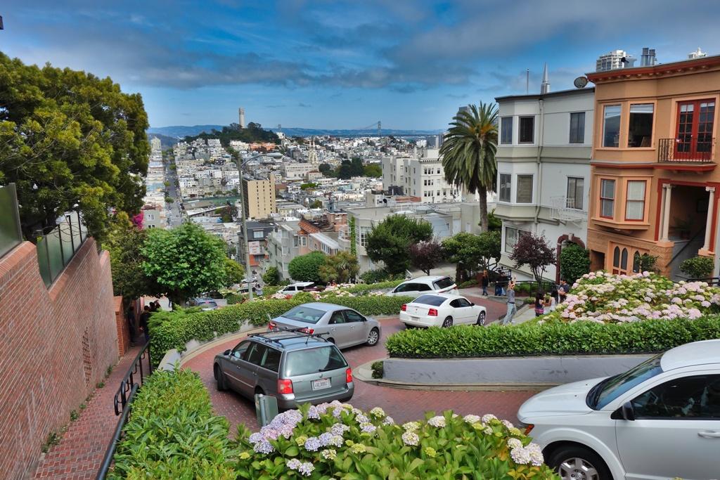Russin Hill – Lombard Street – San Francisco