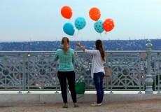 Luftballons für Budapest